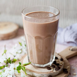 Coffee, Oat and Maple Smoothie